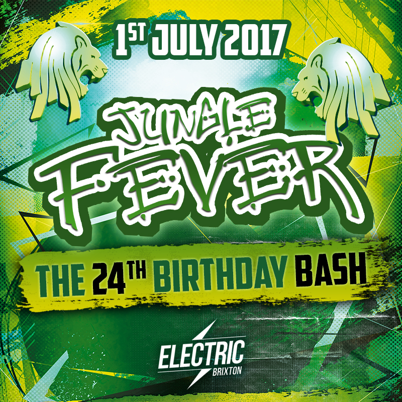 Jungle Fever 24th Birthday Bash